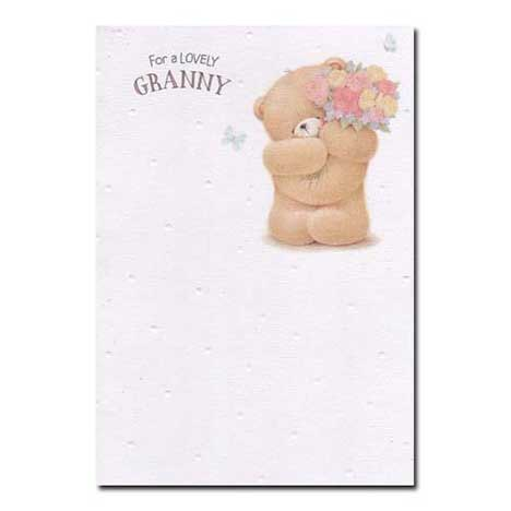 Lovely Granny Forever Friends Birthday Card