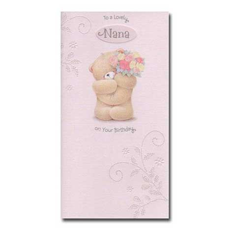 Lovely Nana Birthday Forever Friends Card