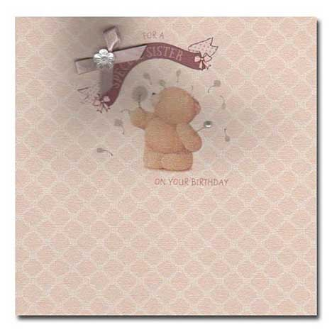 Special Sister Birthday Forever Friends Card