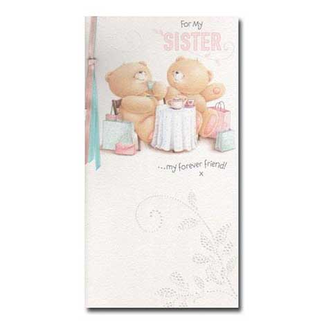 Sister Birthday Forever Friends Card