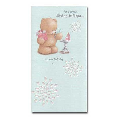 Special Sister-in-Law Birthday Forever Friends Card
