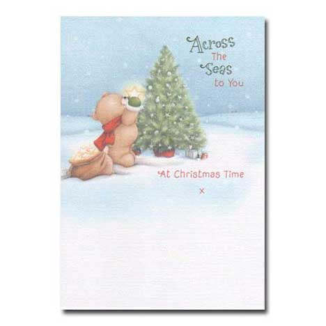 Across the Seas Christmas Forever Friends Card