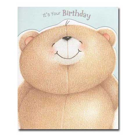 Its Your Birthday Forever Friends Card