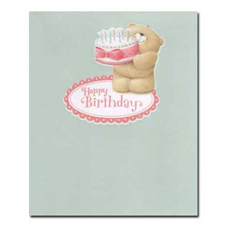 Happy Birthday Forever Friends Card