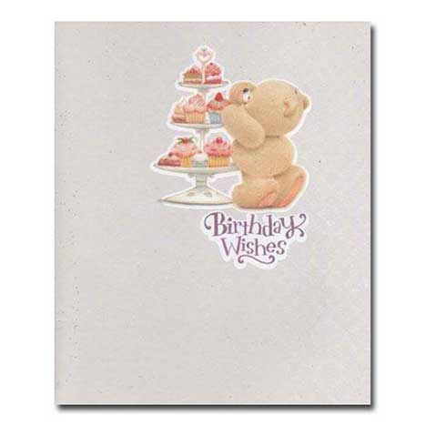 Birthday Wishes Cupcake Forever Friends Card