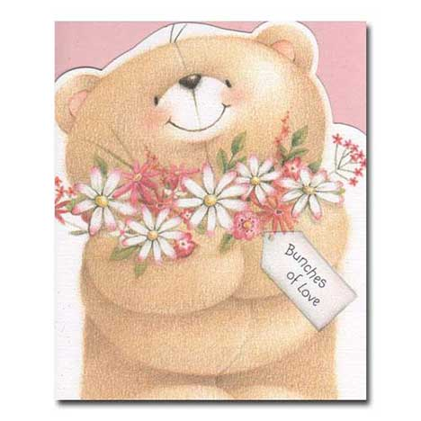 Bunches of Love Forever Friends Card
