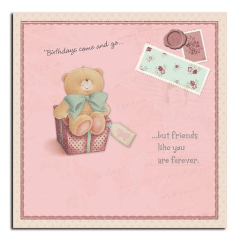 Friend Birthday Vintage Forever Friends Card