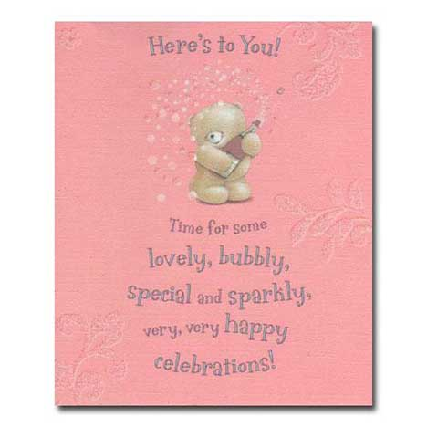 Heres to You! Forever Friends Card