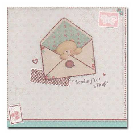 Sending You a Hug Vintage Forever Friends Card