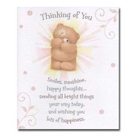 Thinking of You Forever Friends Card