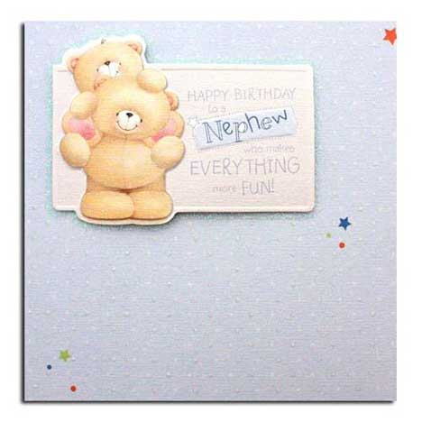 Nephew Birthday Forever Friends Card