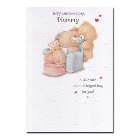 Mummy Forever Friends Valentines Day Card