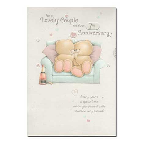 Multi Occasion Spinning Wheel Anniversary Forever Friends Card