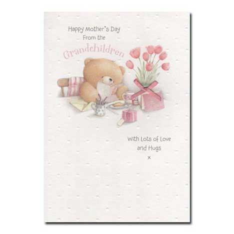 From the Grandchildren Forever Friends Mothers Day Card