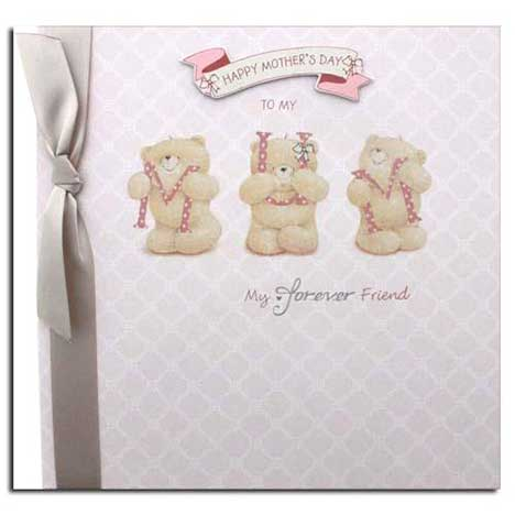 Mum Forever Friends Mothers Day Luxury Card