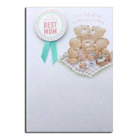 Worlds Best Mum From All of Us Forever Friends Mothers Day Card