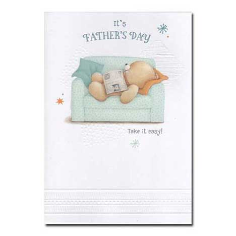 Take it Easy Forever Friends Fathers Day Card