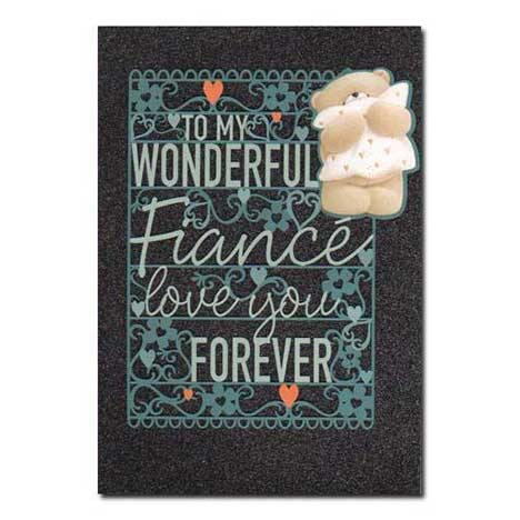 Wonderful Fiance Forever Friends Birthday Card