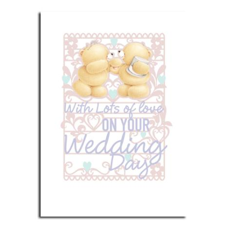 Wedding Day Forever Friends Card