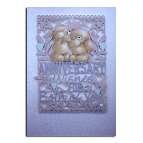 Anniversary Wishes Forever Friends Card