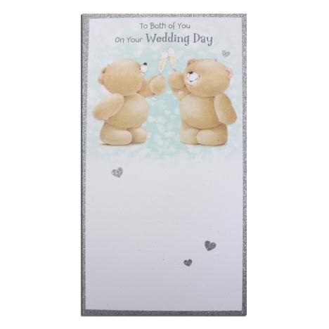 To Both on Your Wedding Day Forever Friends Card