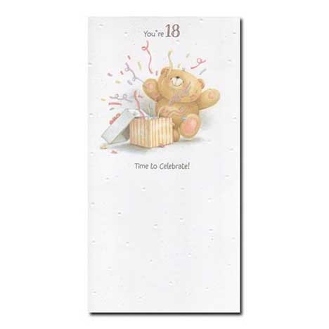 18th Birthday Forever Friends Card