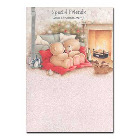 Special Friends Forever Friends Christmas Card