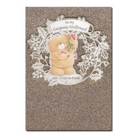 Girlfriend Christmas Forever Friends Card