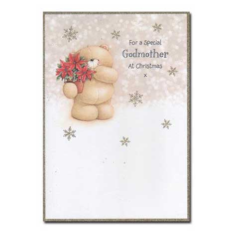 Special Godmother Forever Friends Christmas Card