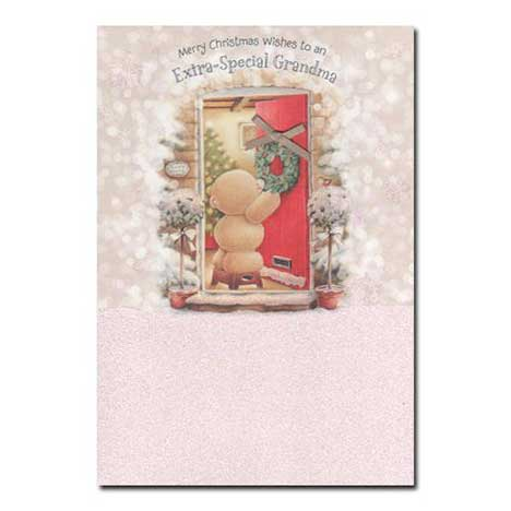 Grandma Forever Friends Christmas Card