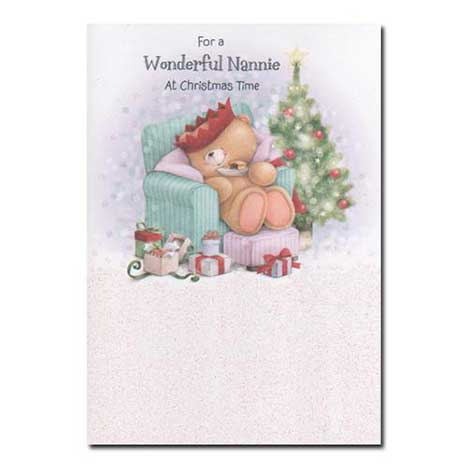 Nannie Forever Friends Christmas Card