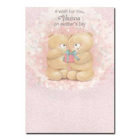 Nana Forever Friends Mothers Day Card