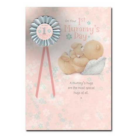 Mummys 1st Mothers Day Forever Friends Card