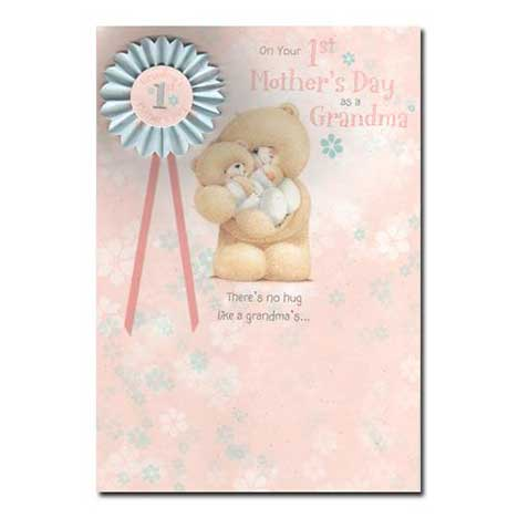1st Mothers Day as a Grandma Forever Friends Card