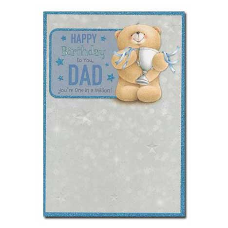 Dad Birthday One in a Million Forever Friends Card