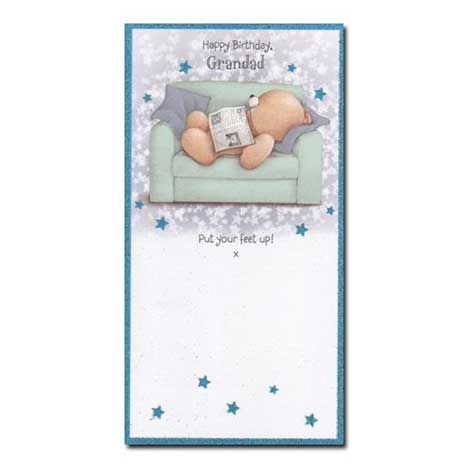 Grandad Birthday Forever Friends Card