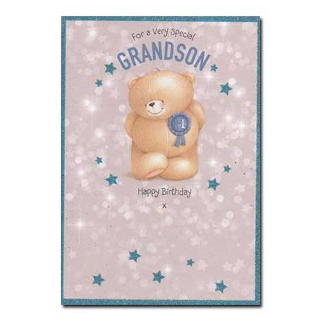 Grandson Birthday Forever Friends Card