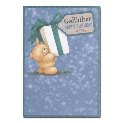 Godfather Birthday Forever Friends Card