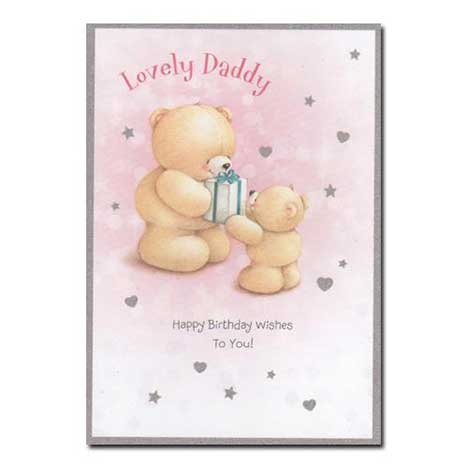 Daddy Birthday Forever Friends Card