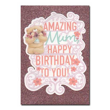 Mum Birthday Forever Friends Card