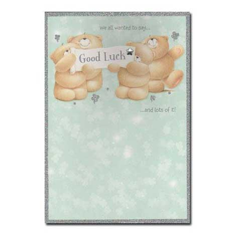 Good Luck Forever Friends Card