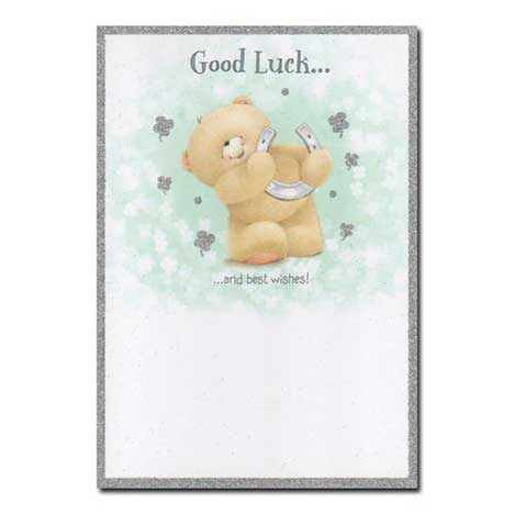 Good Luck Horse Shoe Forever Friends Card