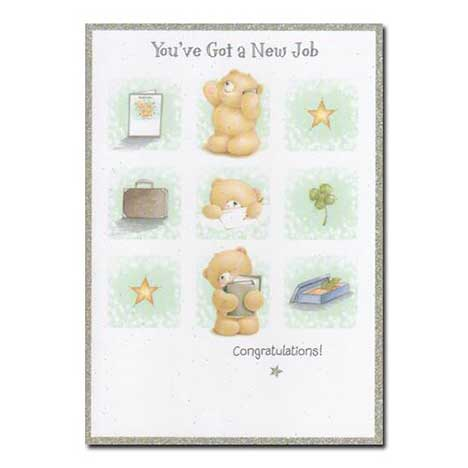 New Job Congratulations Forever Friends Card