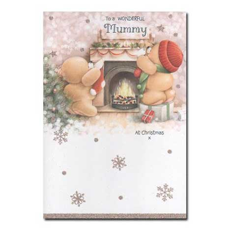 Wonderful Mummy Forever Friends Christmas Card