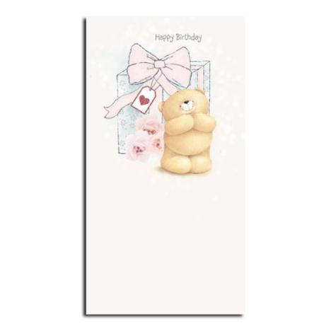 Big Birthday Gift Forever Friends Card