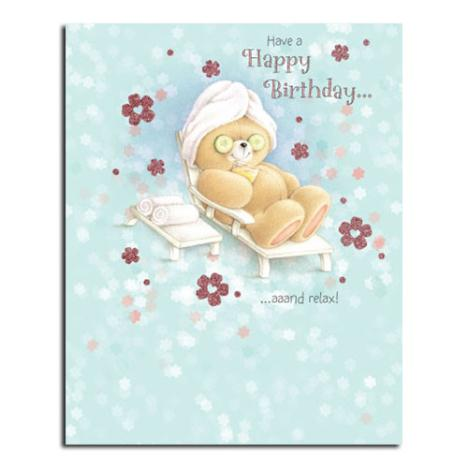 Relaxing Birthday Forever Friends Card