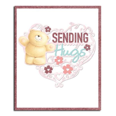 Sending Hugs Forever Friends Birthday Card