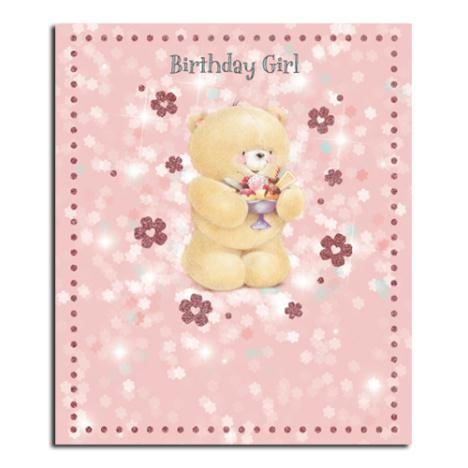 Birthday Girl Forever Friends Card
