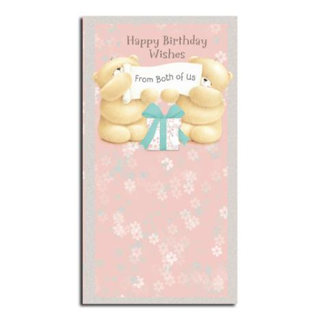 Birthday Wishes From Both Forever Friends Card