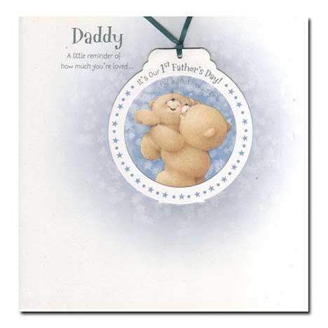 Daddy 1st Fathers Day Photo Card Insert your own Photo!